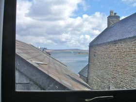 View towards Stromness harbour